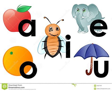 vowels stock images image