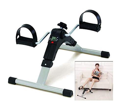 DAYISH Pedal Exerciser Gym Bike Arm & Leg Exercise Peddler ...