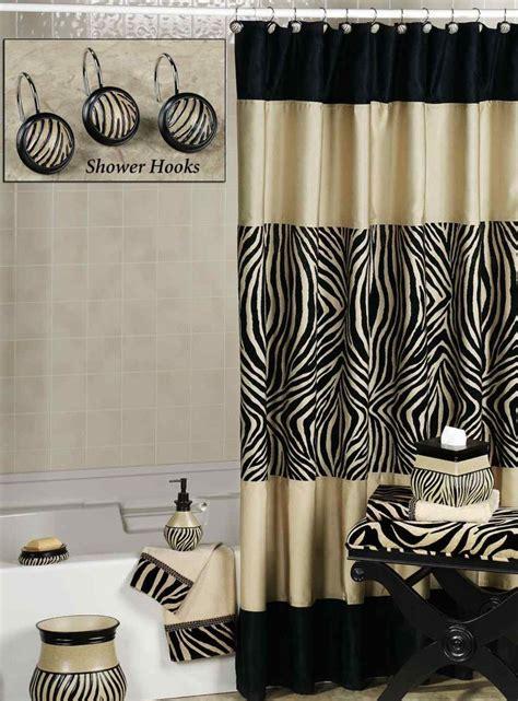 Brown And Cream Zebra Shower Curtain  Curtain Menzilperdenet