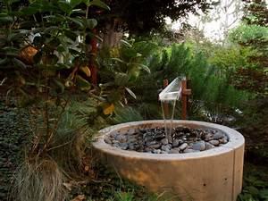 Brunnen und wasserspiele im garten selber bauen 70 bilder for Whirlpool garten mit balkon sanieren selber machen