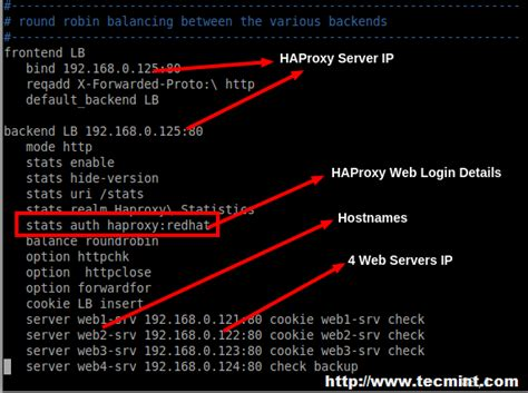 setup high availability load balancer  haproxy
