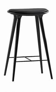 Tabouret Haut Scandinave : tabouret de bar cuir et bois design scandinave mobilier 3615 design ~ Teatrodelosmanantiales.com Idées de Décoration