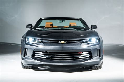 2016 Chevrolet Camaro Convertible First Drive Review