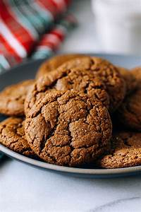 Chewy Ginger Molasses Cookies - Making Thyme for Health