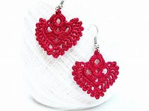 Pdf Patterns Easy Instructions Diy Crochet Earrings