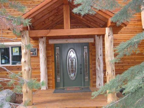 Exterior Attractive Small Rustic Front Porch Decoration