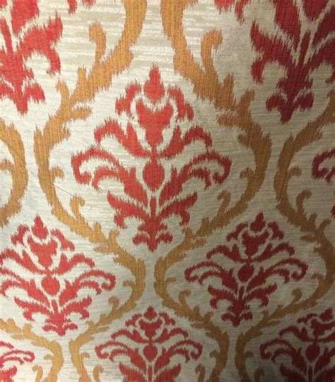 Drapery Fabric By The Yard by Drapery Fabric And Gold Faux Silk By The Yard Ebay