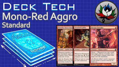 standard mtg decks budget mono aggro 20 budget standard deck tech khans of