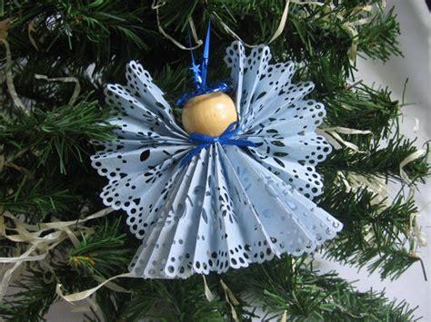 engel aus papier basteln weihnachtsbaumschmuck aus papier 32 kreative diy ideen
