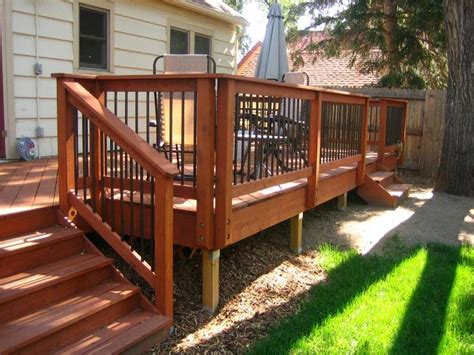 deck railing deck designs pinterest