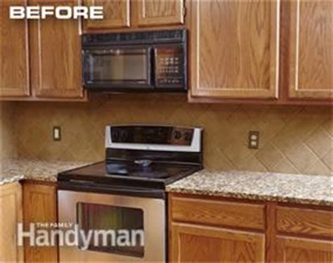 reface kitchen cabinets diy cabinet refacing the family handyman 4626