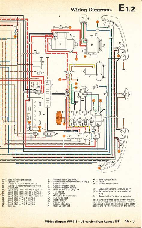 Wiring Diagram by Thesamba Type 4 Wiring Diagrams