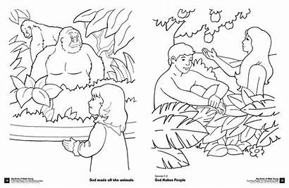 Bible Coloring Pages Story Elementary David