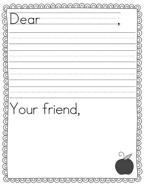 Letter Writing Template Best 25 Letter Writing Template Ideas On