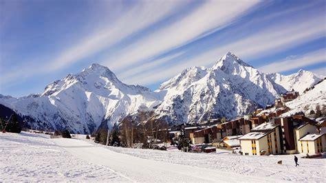 Snow Winter Mountain Landscape City Uhd Wallpapers 4k