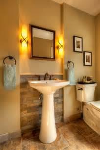 traditional bathroom  elegant vanity wall sconce