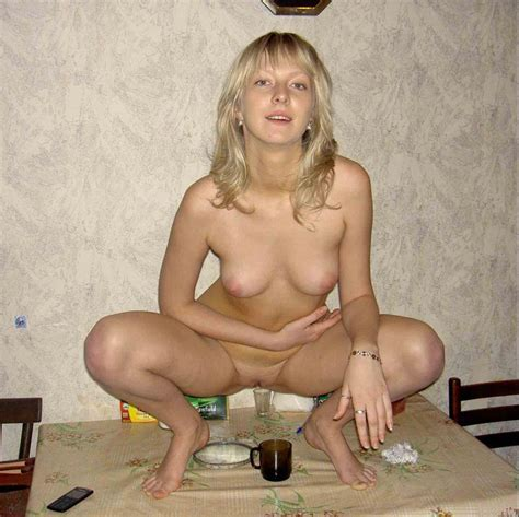 Blond Russian Beauty Getting Herself Drunk Before Getting Into Hardcore Sex Action Russian
