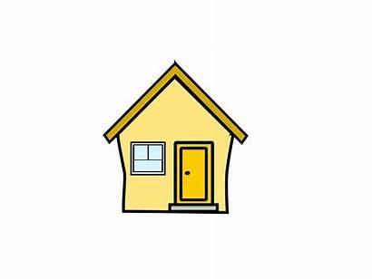 Haus Clipart Yellow Gelbes Hausbau Clip Cliparts