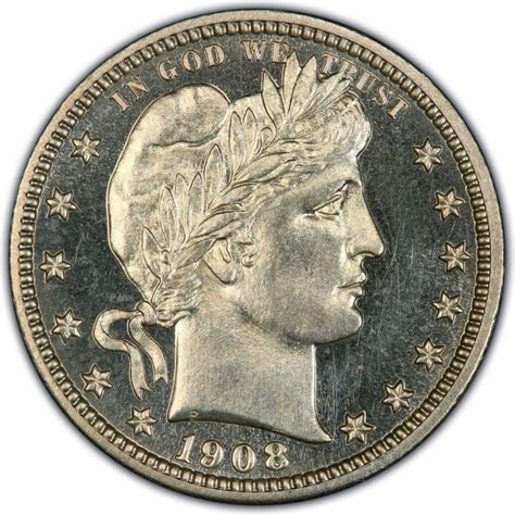 collectibles that are worth money 1908 barber quarter values and prices past sales coinvalues com