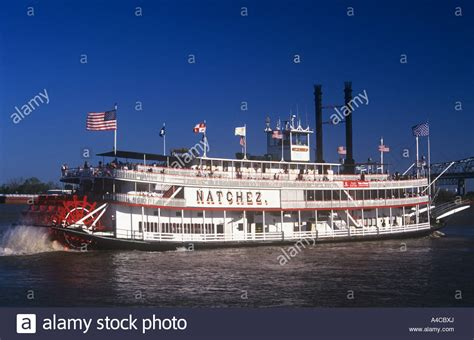 Steamboat Natchez by Steamboat Natchez Mississippi River New Orleans Louisiana