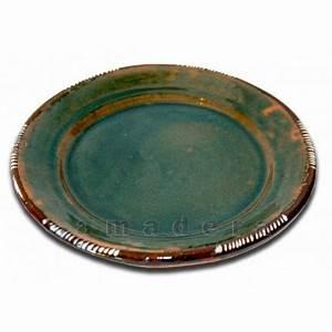 Assiette Plate Originale : assiette color e vaisselle artisanale originale terre cuite maill e ~ Teatrodelosmanantiales.com Idées de Décoration