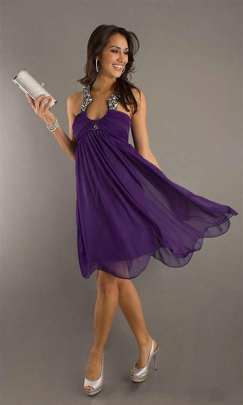 purple cocktail dress picture collection dressedupgirlcom