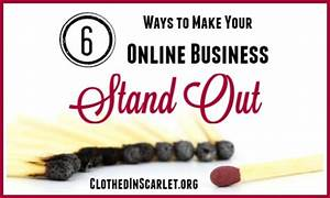 6 Ways to Make Your Online Business Stand Out