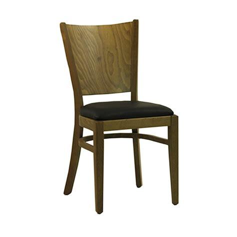 chaises bistro chaise de restaurant assise en bois hetre couleur