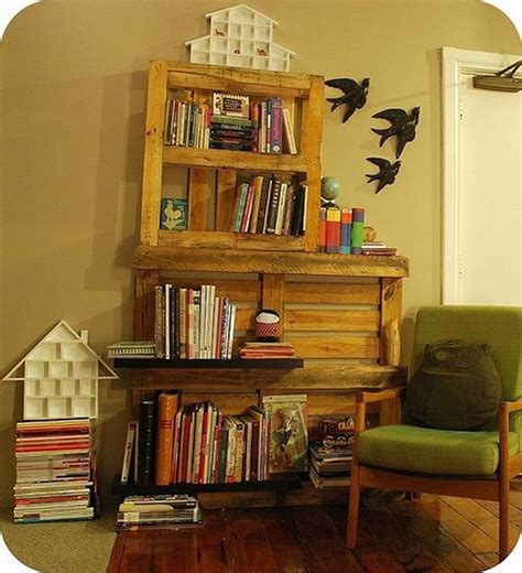Its Easy To Create Wooden Pallet Shelves  Pallet Wood