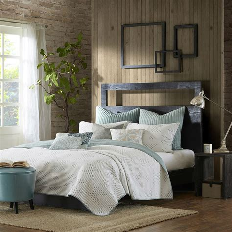 Bed Coverlet by Pacific Blue By Ink Bedding Beddingsuperstore
