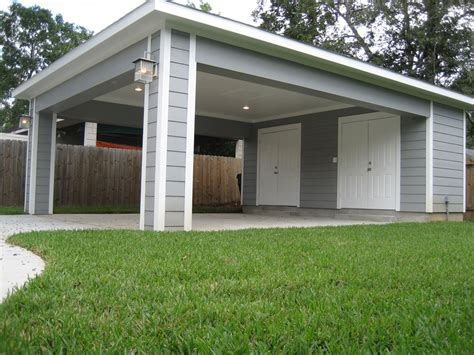 Covered Car by Remodel Houston Garage Carport Addition Recraft Homes