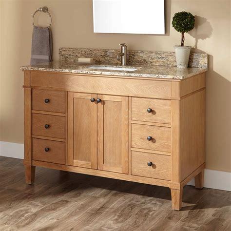 wooden kitchen sink 48 quot marilla vanity for rectangular undermount sink 1173