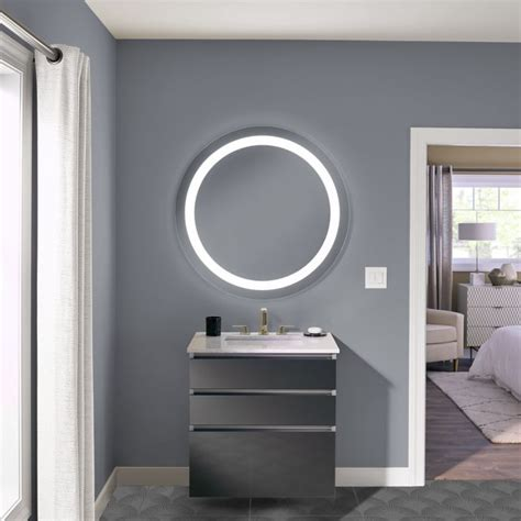 Robern Bathroom Mirrors by Robern Introduces Vitality Lighted Bath Mirrors For Budget