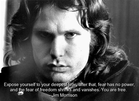 jim morrison famous quotes sayings freedom fear