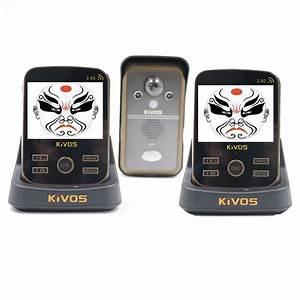 Interphone Video Sans Fil Pas Cher : achetez en gros pas cher sans fil interphone en ligne ~ Edinachiropracticcenter.com Idées de Décoration