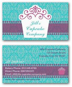 Cake business cards templates free adktrigirlcom for Cake business cards templates free