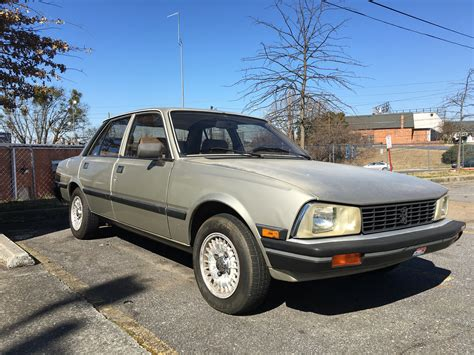 Peugeot In Usa by 1984 Peugeot 505 S For Sale In Atlanta Usa