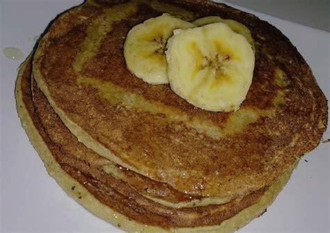 Terigu 200 gram telur 1 butir mentega cair 2 sdm susu 300 ml gula 2 sdm baking powder 2 sdt. Resep Oat Pancake (Diet) oleh Susan - Cookpad