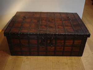 Sold  Antique Anglo Indian Trunk  Trunks