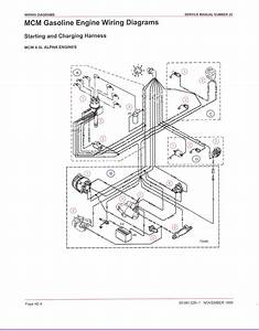 2001 Mercruiser 5 0 Wiring Diagram