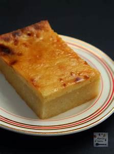 Cassava Cake with Creamy Custard Topping - Manila Spoon