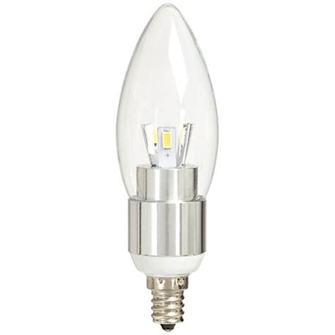 40w equivalent clear 5w led 12 volt candelabra bulb