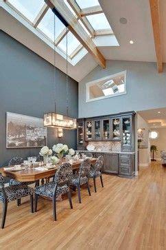 maple floor  dark grey walls dining room pinterest