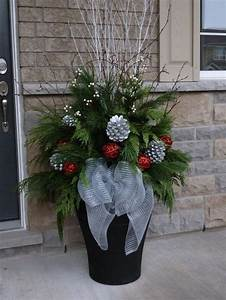 Christmas Planter Decor Pictures, Photos, and Images for