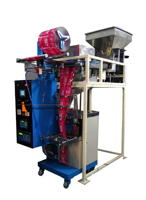 shivalaya machinery mfg  automatic pouch packing machine