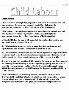 Child Labor Essays About Me Essay Example Child Labour In India  Child Labor Free Essays Thesis Statement Guidelines English Essay Internet also English Argument Essay Topics  Essay Writing Thesis Statement