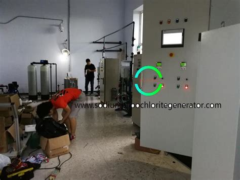 hypochlorite seawater chlorination electro disinfection sodium tank generation storage generator treatment plant water custom blower naclo gauge etc including level