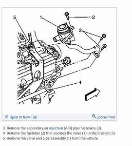 2001 Chevy S10 Secondary Air Injection System Diagram
