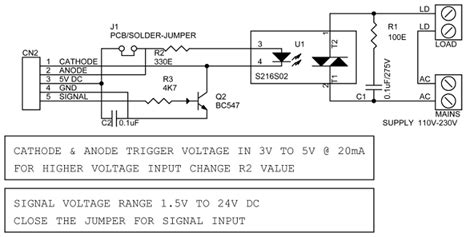 Solid State Relay Circuit Ideas Projects