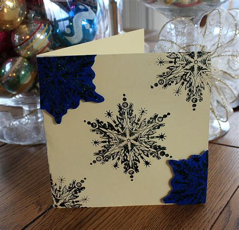 All you need to make this darling homemade card is our free template, some cardstock and a couple other simple craft supplies you. iLoveToCreate Blog: ILovetoCreate Teen Crafts: Blue Christmas Card